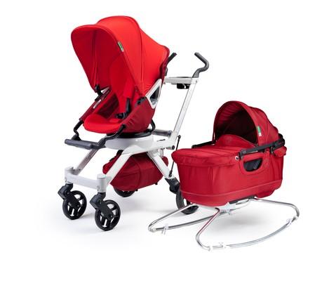 Orbit Baby G2 rojo silla y capazo