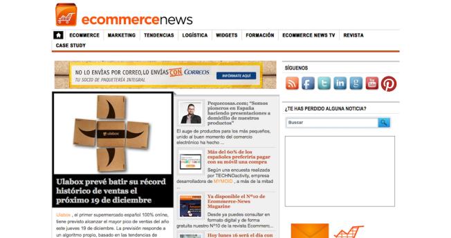 Cabecera Ecommerce News