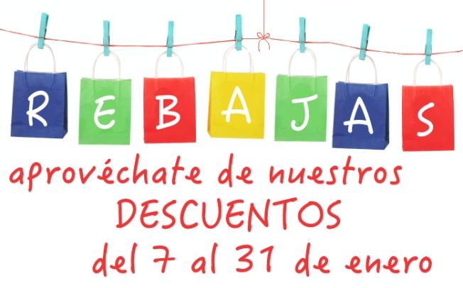 REBAJAS ENERO 2014 EN PEQUECOSAS.COM