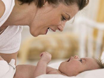 Hablando al bebé
