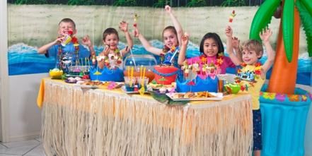 Fiesta de cumpleaños Hawaii