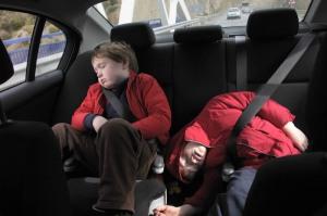 Niños agotados